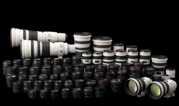 Tipi di obiettivi fotografici per reflex