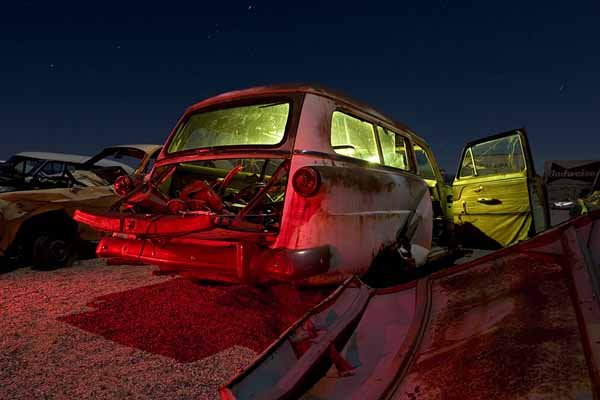 Troy Paiva: fotografia notturna