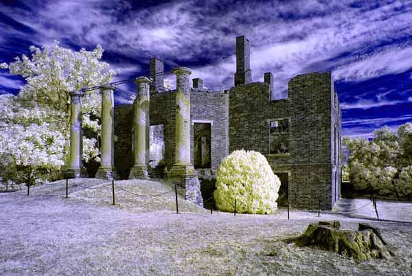 Come fotografare con il filtro infrarosso