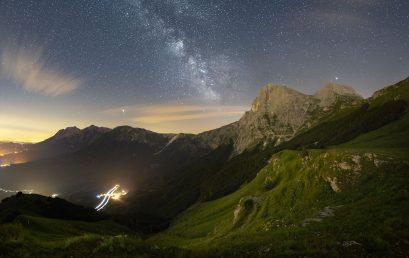 Fotografare la Via Lattea: la post produzione