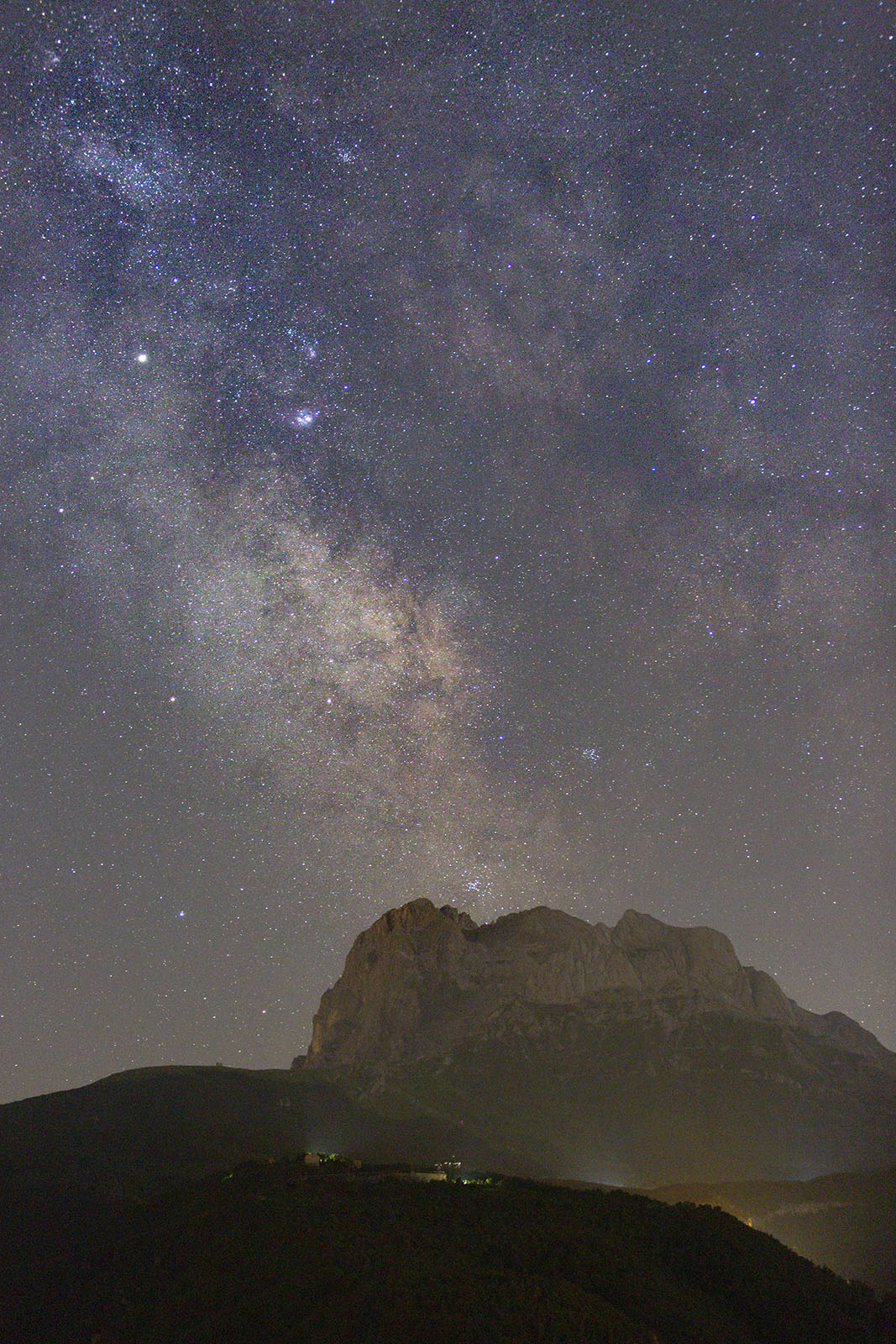 errori nel fotografare la Via Lattea
