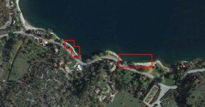 punto di ripresa per fotografare il lago di Scanno