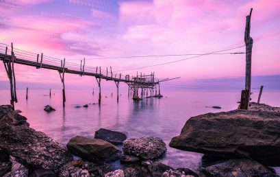 Location fotografiche: Abruzzo, trabocco Turchino