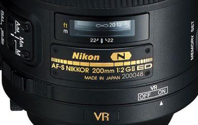 Sigle di denominazione e nomenclatura degli obiettivi Nikon