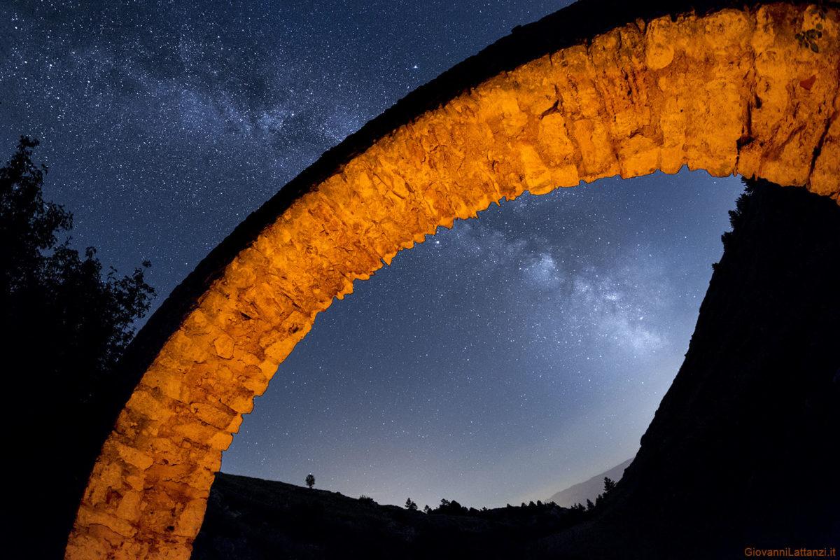 fotografare la Via Lattea