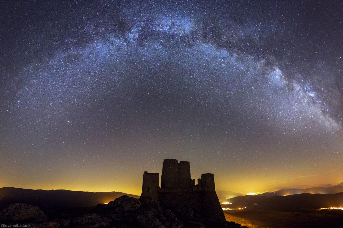 Fotografia della Via Lattea