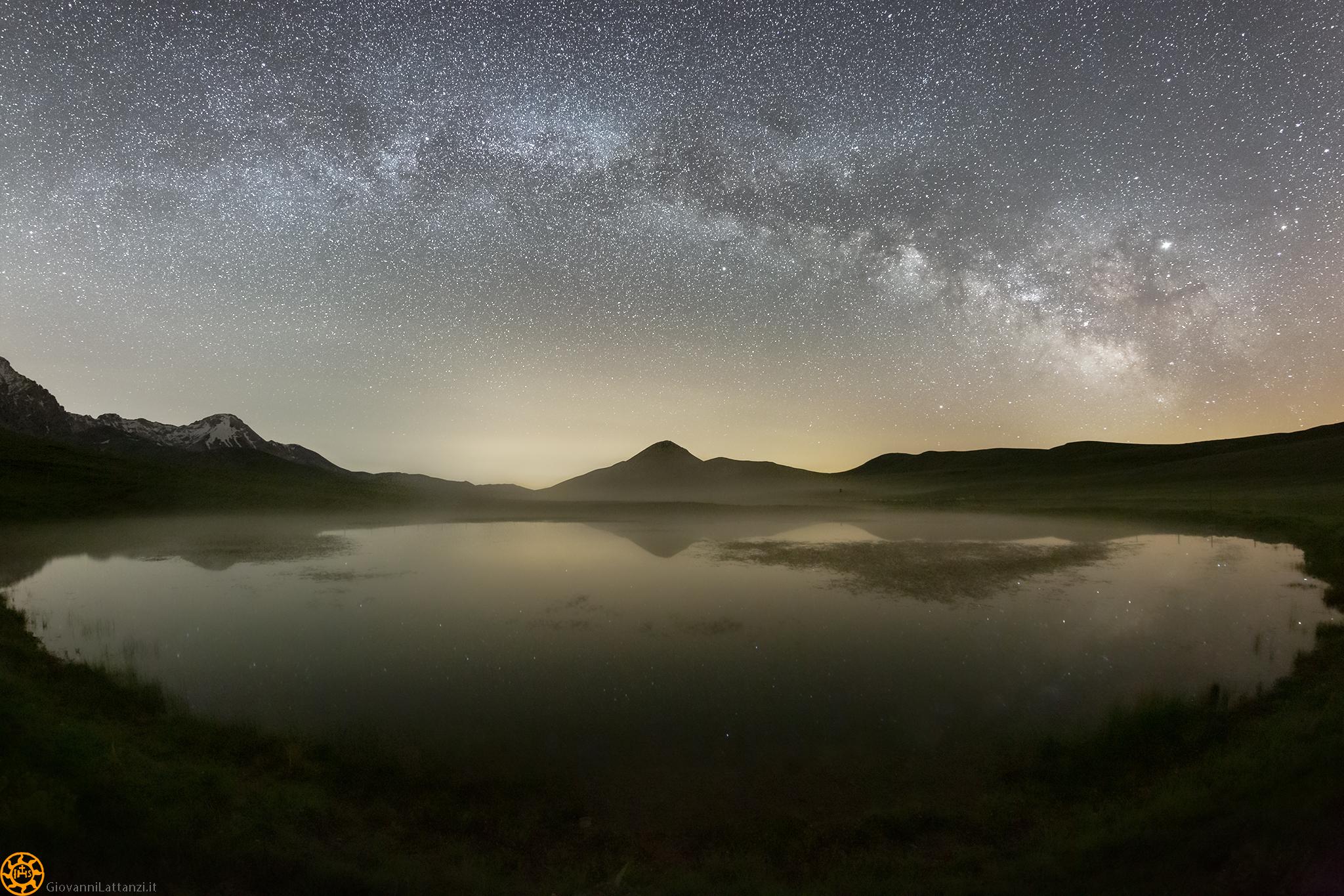 Parametri di scatto la Via Lattea