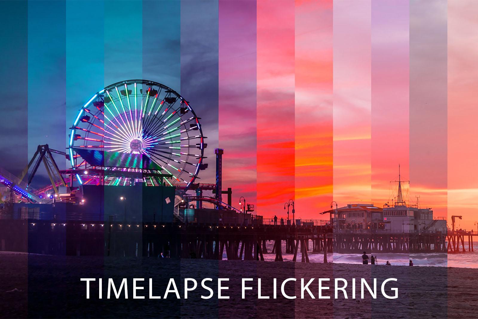 Come eliminare il flickering nei timelapse