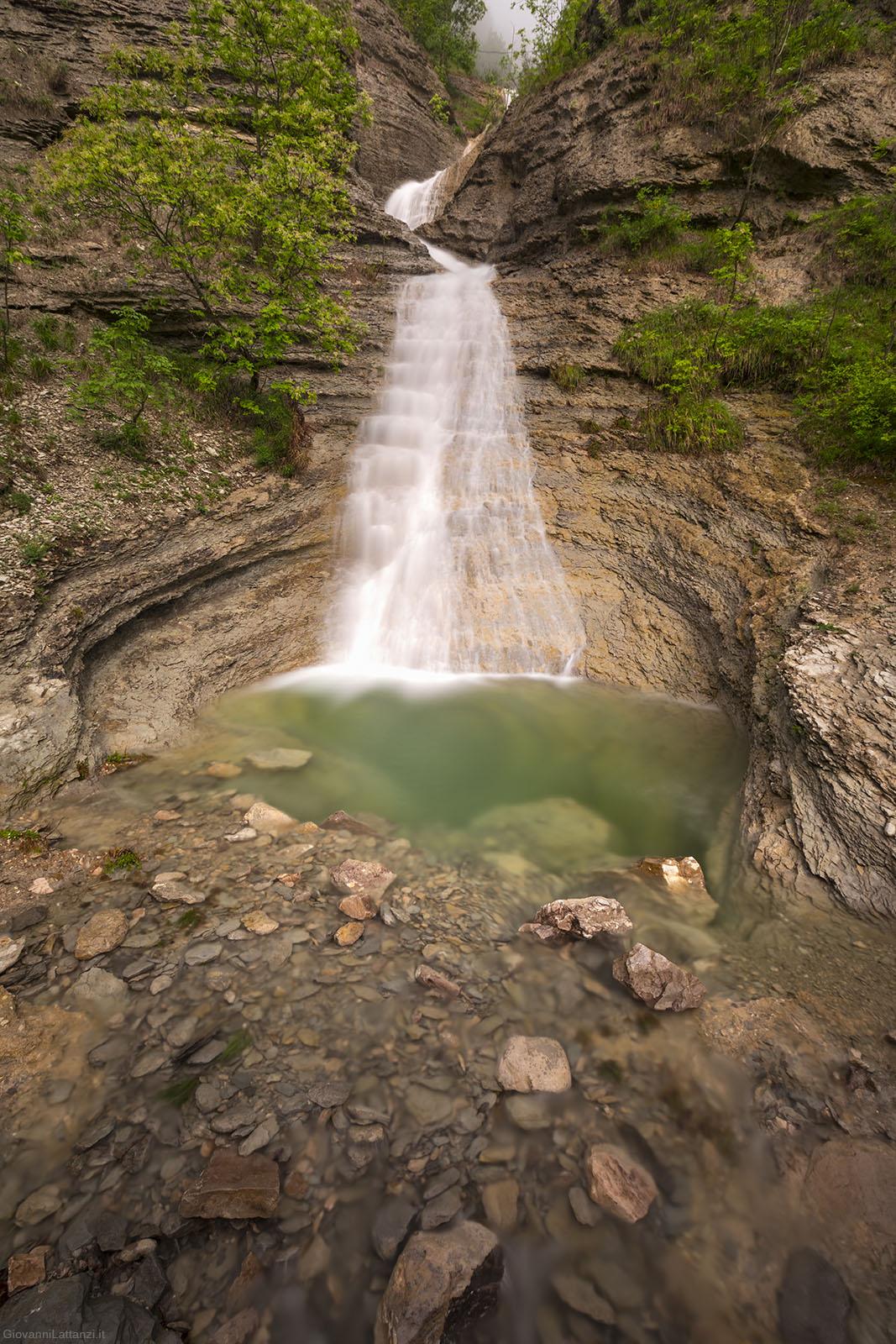 Come fotografare una cascata