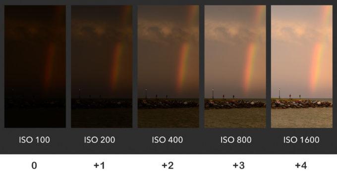 Come impostare gli ISO