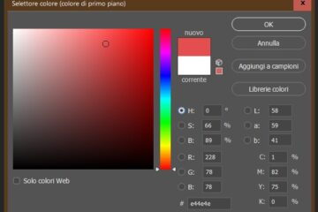 colore in photoshop